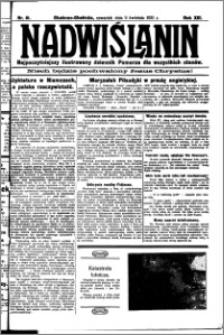 Nadwiślanin. Gazeta Ziemi Chełmińskiej, 1931.04.09 R. 13 nr 81