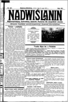 Nadwiślanin. Gazeta Ziemi Chełmińskiej, 1931.05.09 R. 13 nr 107