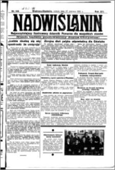Nadwiślanin. Gazeta Ziemi Chełmińskiej, 1931.06.27 R. 13 nr 146