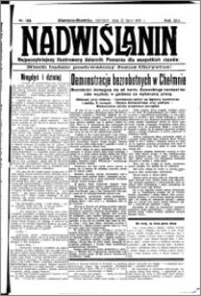 Nadwiślanin. Gazeta Ziemi Chełmińskiej, 1931.07.12 R. 13 nr 158