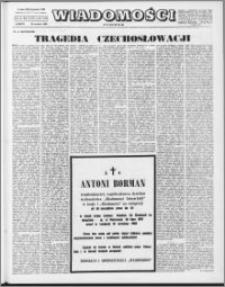 Wiadomości, R. 23 nr 39 (1174), 1968
