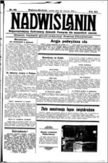 Nadwiślanin. Gazeta Ziemi Chełmińskiej, 1931.08.22 R. 13 nr 192