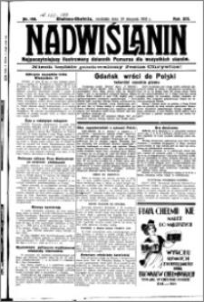 Nadwiślanin. Gazeta Ziemi Chełmińskiej, 1931.08.30 R. 13 nr 199