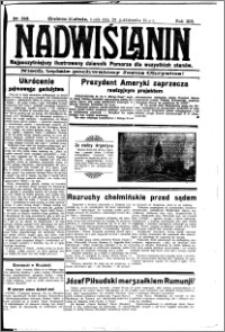 Nadwiślanin. Gazeta Ziemi Chełmińskiej, 1931.10.28 R. 13 nr 249