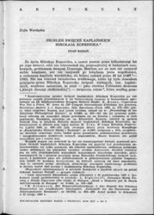 Problemy święceń kapłańskich Mikołaja Kopernika