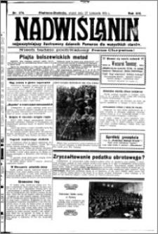 Nadwiślanin. Gazeta Ziemi Chełmińskiej, 1931.11.27 R. 13 nr 274