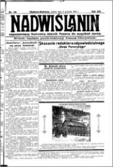Nadwiślanin. Gazeta Ziemi Chełmińskiej, 1931.12.05 R. 13 nr 281