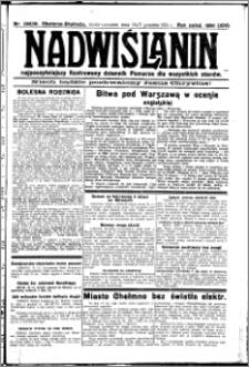Nadwiślanin. Gazeta Ziemi Chełmińskiej, 1931.12.16-17 R. 13 nr 289