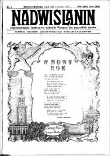 Nadwiślanin. Gazeta Ziemi Chełmińskiej, 1932.01.01 R. 14 nr 1