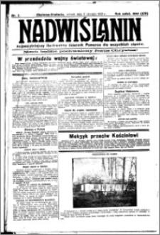Nadwiślanin. Gazeta Ziemi Chełmińskiej, 1932.01.05 R. 14 nr 2
