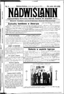 Nadwiślanin. Gazeta Ziemi Chełmińskiej, 1932.01.06 R. 14 nr 3