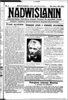 Nadwiślanin. Gazeta Ziemi Chełmińskiej, 1932.01.08 R. 14 nr 4