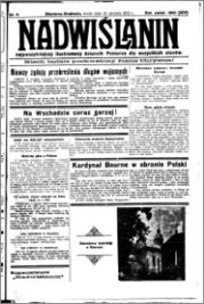Nadwiślanin. Gazeta Ziemi Chełmińskiej, 1932.01.13 R. 14 nr 8