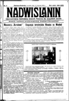Nadwiślanin. Gazeta Ziemi Chełmińskiej, 1932.01.14 R. 14 nr 9