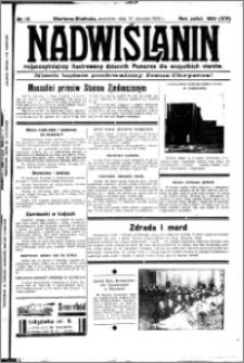 Nadwiślanin. Gazeta Ziemi Chełmińskiej, 1932.01.17 R. 14 nr 12