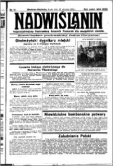 Nadwiślanin. Gazeta Ziemi Chełmińskiej, 1932.01.20 R. 14 nr 14