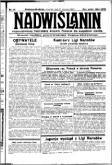 Nadwiślanin. Gazeta Ziemi Chełmińskiej, 1932.01.21 R. 14 nr 15