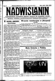 Nadwiślanin. Gazeta Ziemi Chełmińskiej, 1932.01.23 R. 14 nr 17