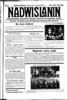 Nadwiślanin. Gazeta Ziemi Chełmińskiej, 1932.01.24 R. 14 nr 18