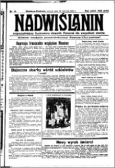 Nadwiślanin. Gazeta Ziemi Chełmińskiej, 1932.01.26 R. 14 nr 19