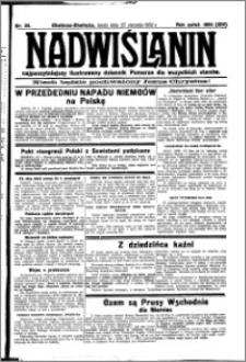 Nadwiślanin. Gazeta Ziemi Chełmińskiej, 1932.01.27 R. 14 nr 20