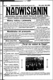 Nadwiślanin. Gazeta Ziemi Chełmińskiej, 1932.01.28 R. 14 nr 21