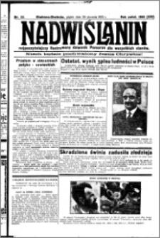 Nadwiślanin. Gazeta Ziemi Chełmińskiej, 1932.01.29 R. 14 nr 22
