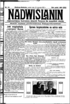 Nadwiślanin. Gazeta Ziemi Chełmińskiej, 1932.01.30 R. 14 nr 23
