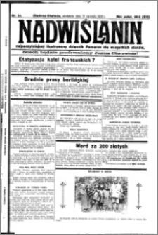 Nadwiślanin. Gazeta Ziemi Chełmińskiej, 1932.01.31 R. 14 nr 24
