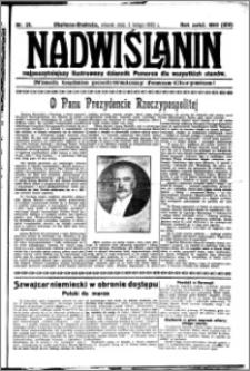 Nadwiślanin. Gazeta Ziemi Chełmińskiej, 1932.02.02 R. 14 nr 25