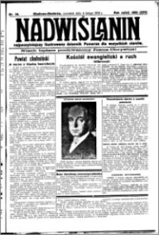 Nadwiślanin. Gazeta Ziemi Chełmińskiej, 1932.02.04 R. 14 nr 26