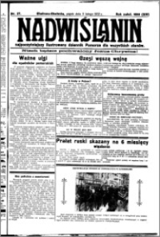Nadwiślanin. Gazeta Ziemi Chełmińskiej, 1932.02.05 R. 14 nr 27