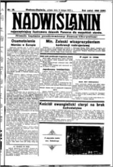 Nadwiślanin. Gazeta Ziemi Chełmińskiej, 1932.02.06 R. 14 nr 28