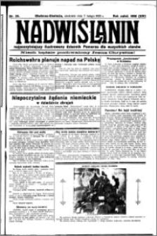 Nadwiślanin. Gazeta Ziemi Chełmińskiej, 1932.02.07 R. 14 nr 29