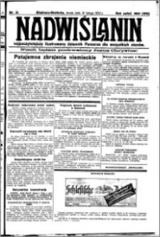 Nadwiślanin. Gazeta Ziemi Chełmińskiej, 1932.02.10 R. 14 nr 31
