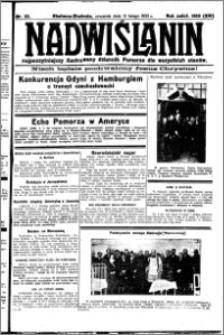 Nadwiślanin. Gazeta Ziemi Chełmińskiej, 1932.02.11 R. 14 nr 32