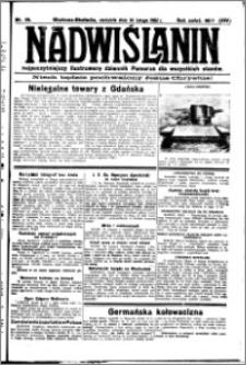 Nadwiślanin. Gazeta Ziemi Chełmińskiej, 1932.02.14 R. 14 nr 35
