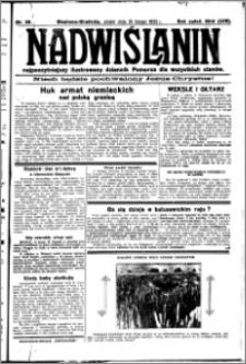 Nadwiślanin. Gazeta Ziemi Chełmińskiej, 1932.02.19 R. 14 nr 39