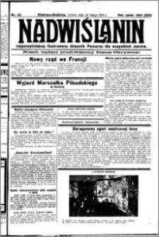 Nadwiślanin. Gazeta Ziemi Chełmińskiej, 1932.02.23 R. 14 nr 42