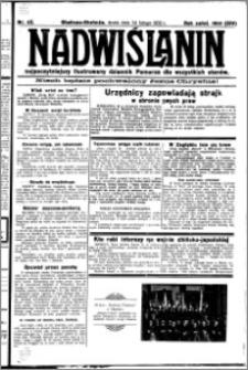 Nadwiślanin. Gazeta Ziemi Chełmińskiej, 1932.02.24 R. 14 nr 43