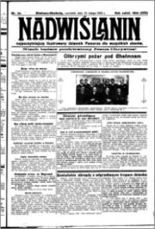 Nadwiślanin. Gazeta Ziemi Chełmińskiej, 1932.02.25 R. 14 nr 44