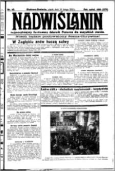 Nadwiślanin. Gazeta Ziemi Chełmińskiej, 1932.02.26 R. 14 nr 45