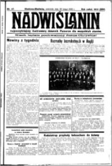 Nadwiślanin. Gazeta Ziemi Chełmińskiej, 1932.02.28 R. 14 nr 47