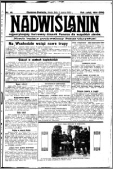 Nadwiślanin. Gazeta Ziemi Chełmińskiej, 1932.03.02 R. 14 nr 49