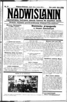 Nadwiślanin. Gazeta Ziemi Chełmińskiej, 1932.03.04 R. 14 nr 51