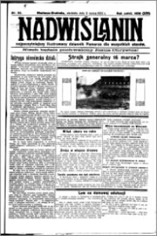 Nadwiślanin. Gazeta Ziemi Chełmińskiej, 1932.03.06 R. 14 nr 53