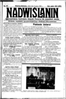 Nadwiślanin. Gazeta Ziemi Chełmińskiej, 1932.03.09 R. 14 nr 55