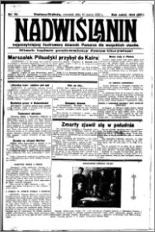 Nadwiślanin. Gazeta Ziemi Chełmińskiej, 1932.03.10 R. 14 nr 56