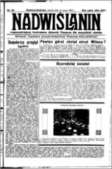 Nadwiślanin. Gazeta Ziemi Chełmińskiej, 1932.03.12 R. 14 nr 58