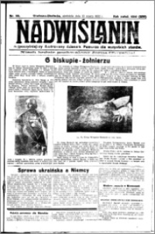Nadwiślanin. Gazeta Ziemi Chełmińskiej, 1932.03.13 R. 14 nr 59
